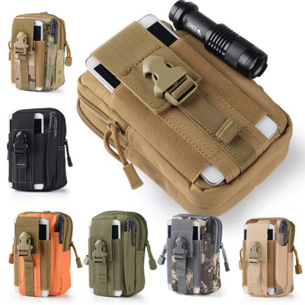 Multifunction Outdoor Bag Carry Accessory Kit Camping bag Travel Blowout Pouch Belt Waist Tactical bag